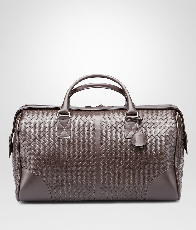 BOTTEGA VENETA Intrecciato VN Medium Duffel Holiday or weekend bag E fp