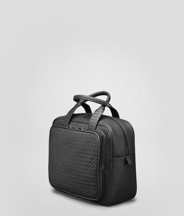 BOTTEGA VENETA BRIEFCASE IN EBANO INTRECCIATO VN Trolley and Carry-on bag E fp