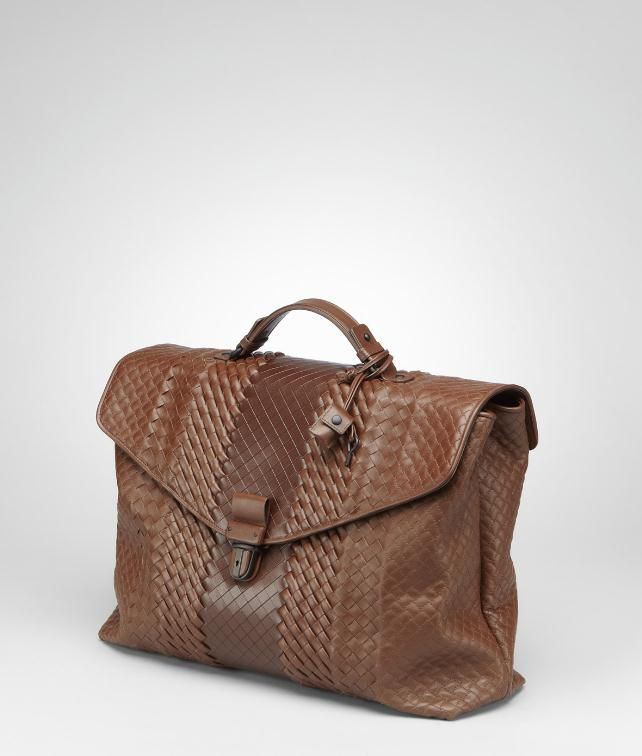 BOTTEGA VENETA Intreccio Imperatore Briefcase Business bag U fp
