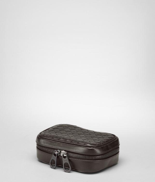 BOTTEGA VENETA Intrecciato VN Cufflink Case Travel Accessory E fp