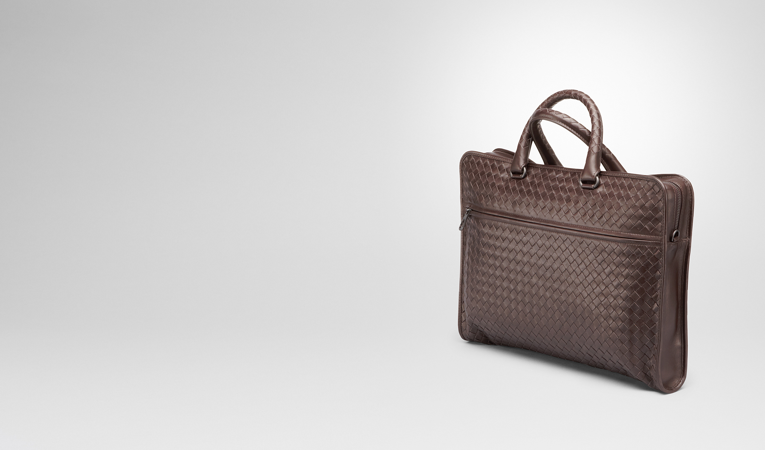 BOTTEGA VENETA Business bag U BRIEFCASE IN MORO INTRECCIATO CALF pl