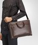 BOTTEGA VENETA BORSA BUSINESS IN VITELLO INTRECCIATO MORO Borsa Business U lp