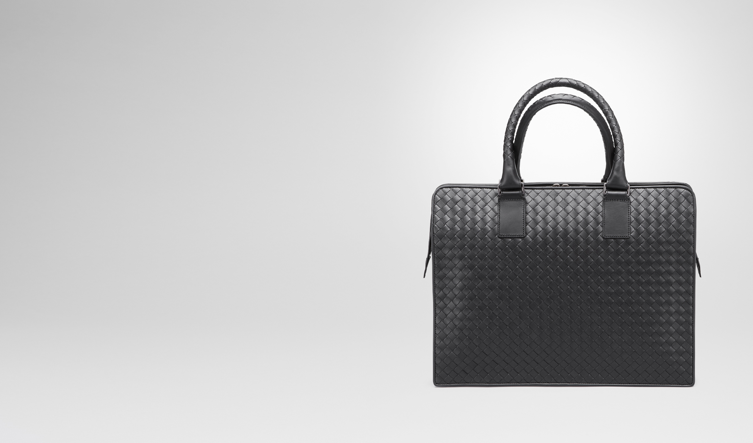 BOTTEGA VENETA Business Tasche U AKTENTASCHE AUS INTRECCIATO VN IN NERO pl