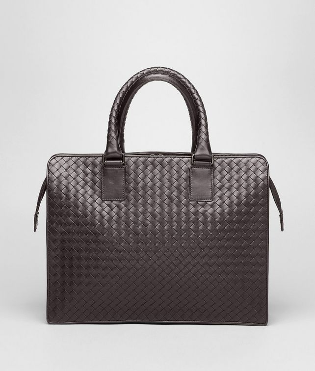 BOTTEGA VENETA Business Bag Ebano in VN Intrecciato Borsa Business U fp