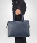 BOTTEGA VENETA LIGHT TOURMALINE INTRECCIATO BRIEFCASE Business bag U ap