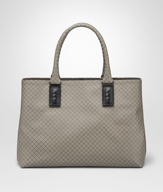 BOTTEGA VENETA TOTE BAG IN SHADOW INTRECCIOJET Tote Bag U fp