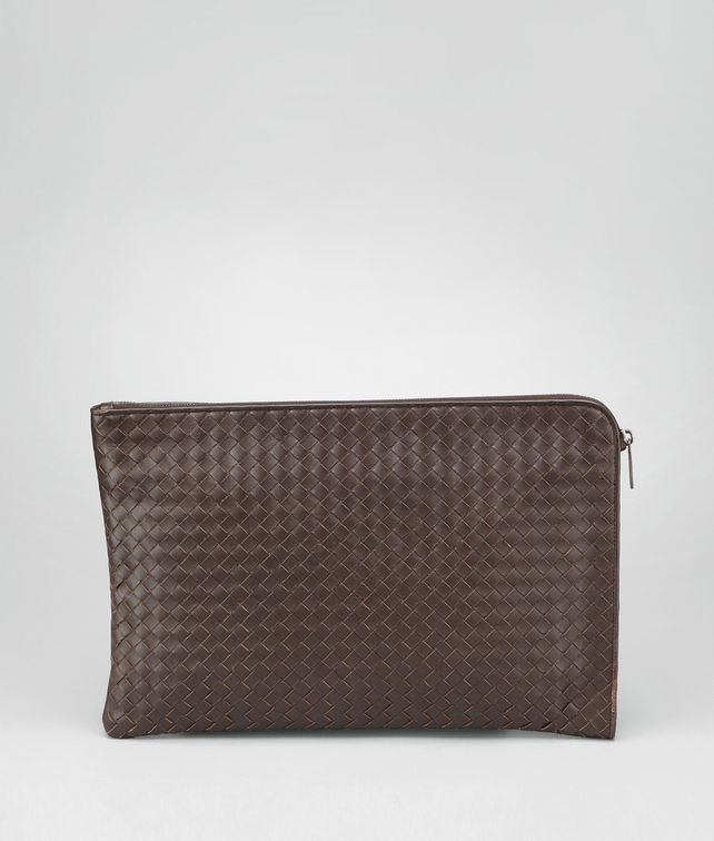 BOTTEGA VENETA Ebano Intrecciato VN Document Case Business bag U fp