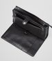 BOTTEGA VENETA MULTI-FUNCTIONAL CASE IN NERO CALF, INTRECCIATO DETAILS Small bag U ap