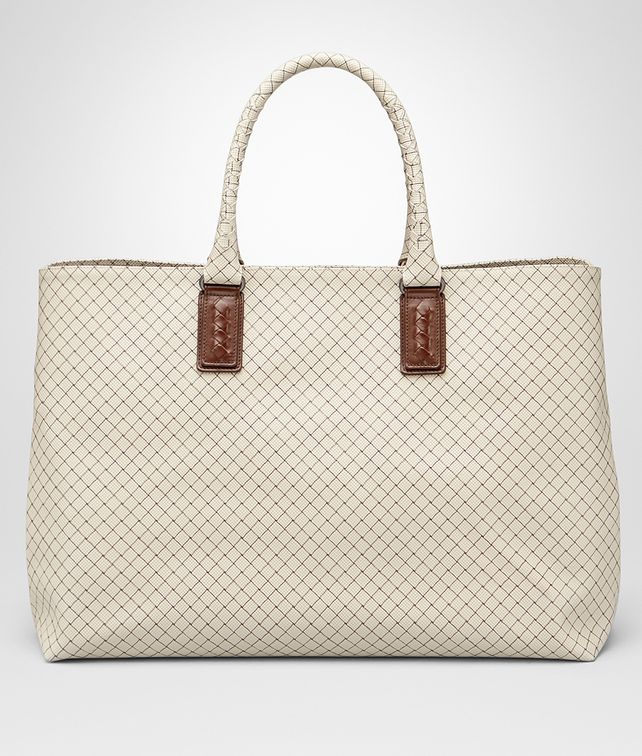 BOTTEGA VENETA Großer Shopper mit Intrecciojet Gainsboro Shopper E fp