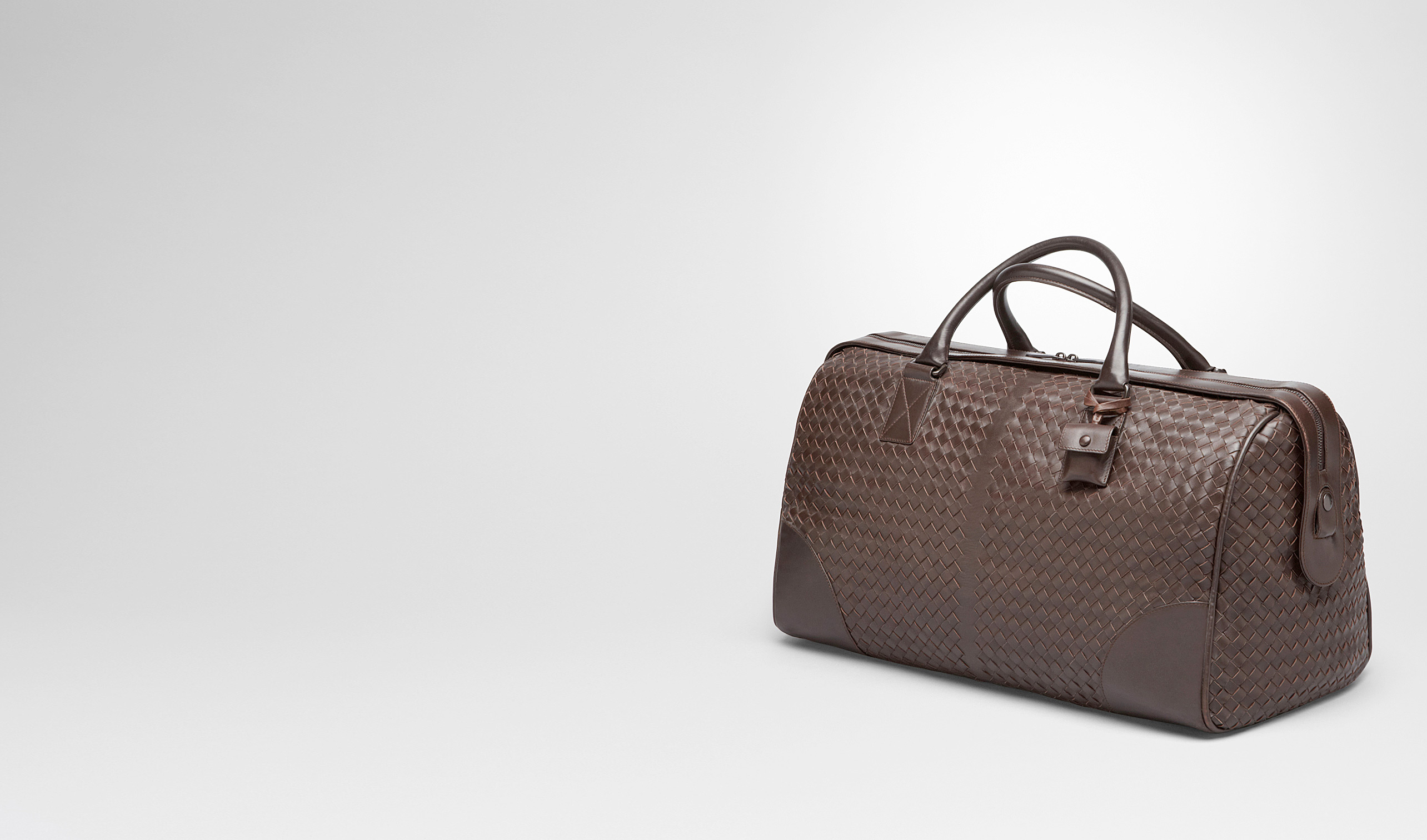 BOTTEGA VENETA Trolley and Carry-on bag E Ebano Intrecciato VN Medium Duffel pl