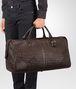 BOTTEGA VENETA Mittelgroße Reisetasche aus VN-Leder Intrecciato Ebano Trolley und Handgepäck E ap