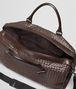 BOTTEGA VENETA Mittelgroße Reisetasche aus VN-Leder Intrecciato Ebano Trolley und Handgepäck E dp
