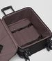 BOTTEGA VENETA TROLLEY IN NERO INTRECCIATO VN Trolley and Carry-on bag E dp