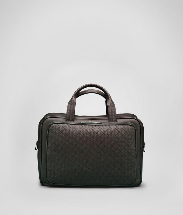 BOTTEGA VENETA Ebano Intrecciato VN Carry On Bag Trolley and Carry-on bag E fp