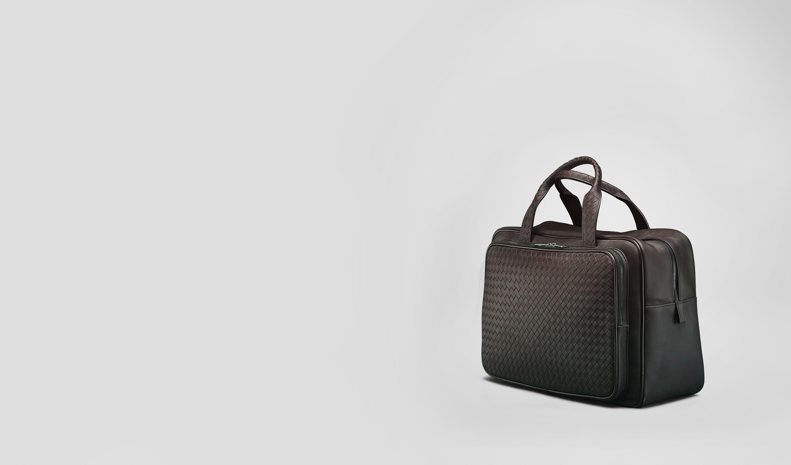 BOTTEGA VENETA Trolley and Carry-on bag E Ebano Intrecciato VN Carry On Bag pl