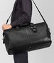 BOTTEGA VENETA LARGE DUFFEL BAG IN NERO INTRECCIATO VN Luggage E ap