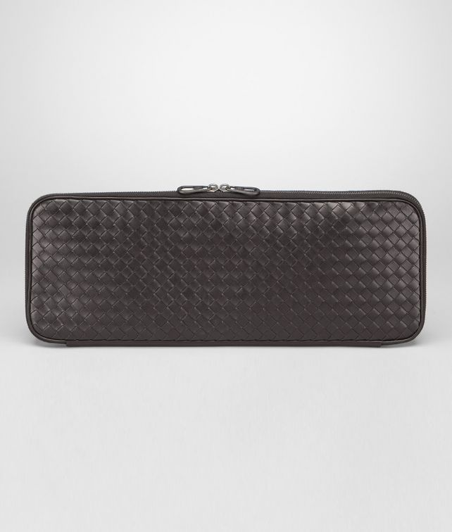BOTTEGA VENETA Ebano Intrecciato VN Tie Case Other Leather Accessory U fp