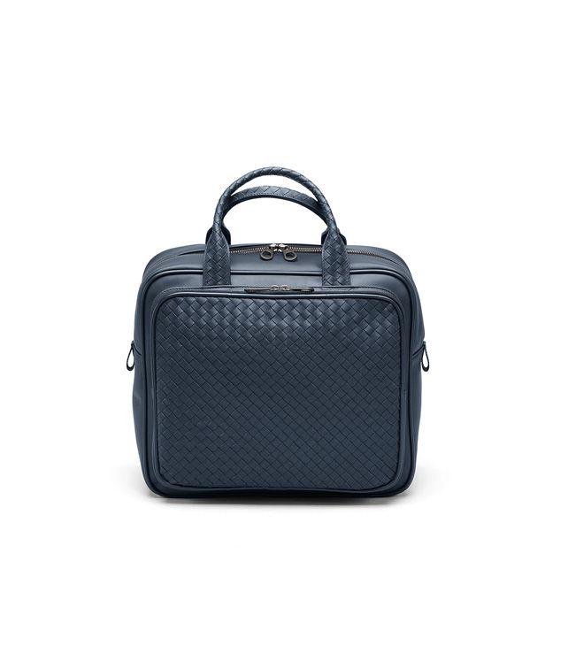 BOTTEGA VENETA Tasche aus VN-Leder Intrecciato Celeste Trolley und Handgepäck E fp
