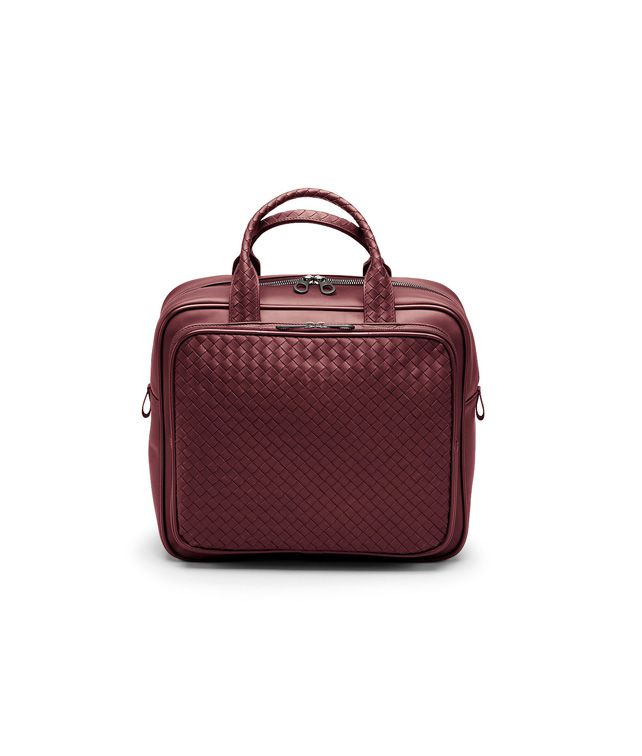 BOTTEGA VENETA Vermillon Intrecciato VN Carry On Bag Trolley and Carry-on bag E fp
