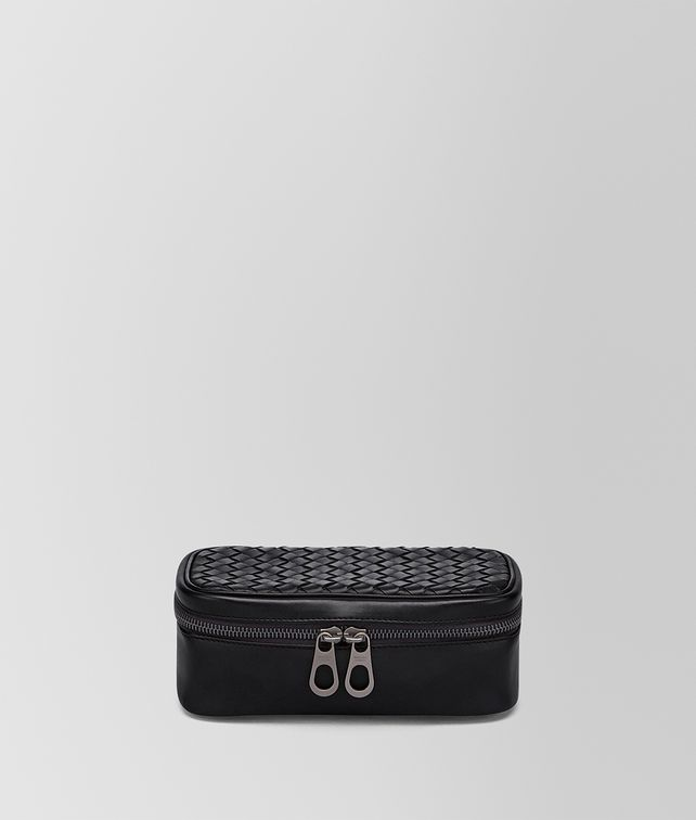 BOTTEGA VENETA NERO INTRECCIATO WATCH CASE Other Leather Accessory E fp