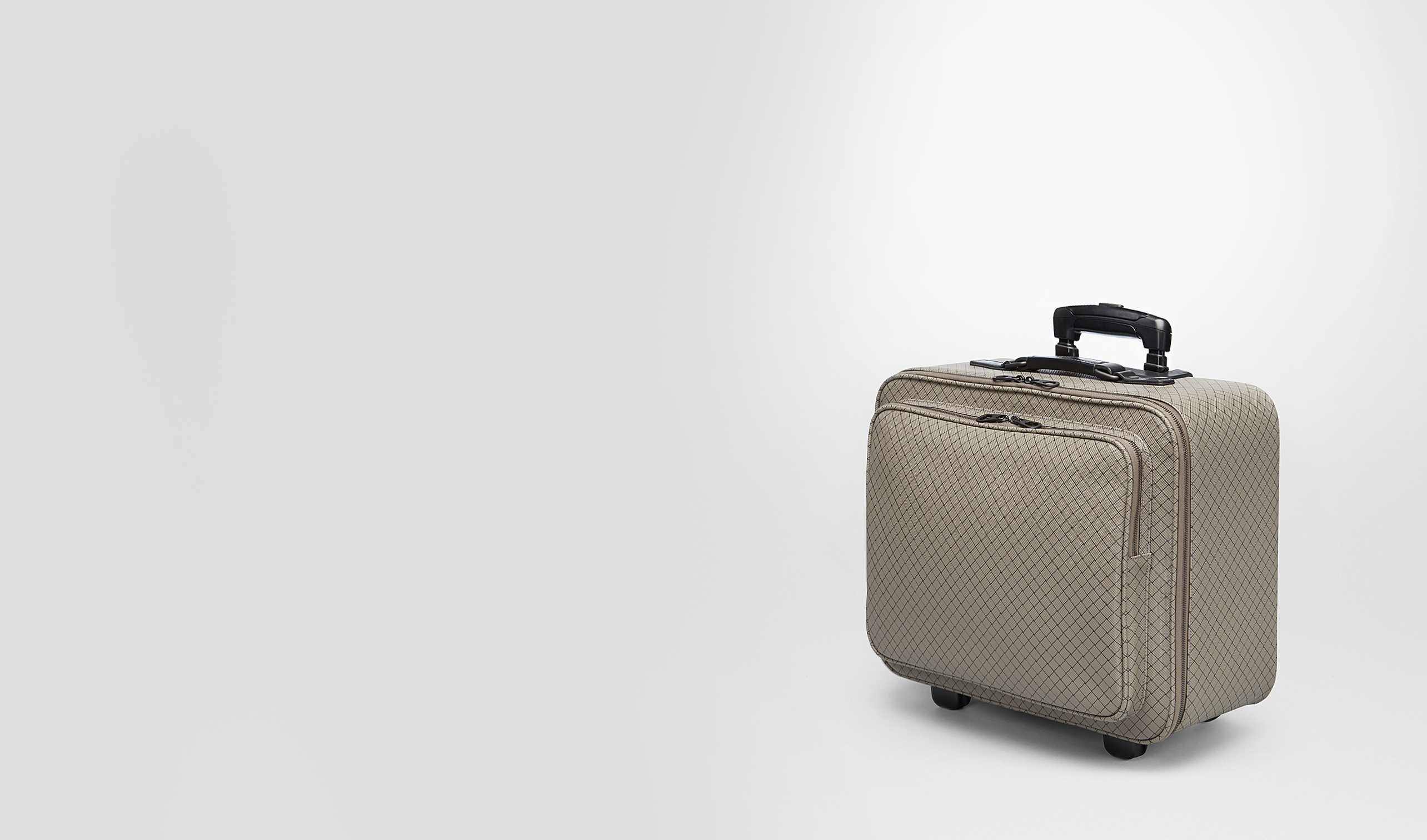 BOTTEGA VENETA Trolley and Carry-on bag E Shadow Intrecciojet Trolley pl