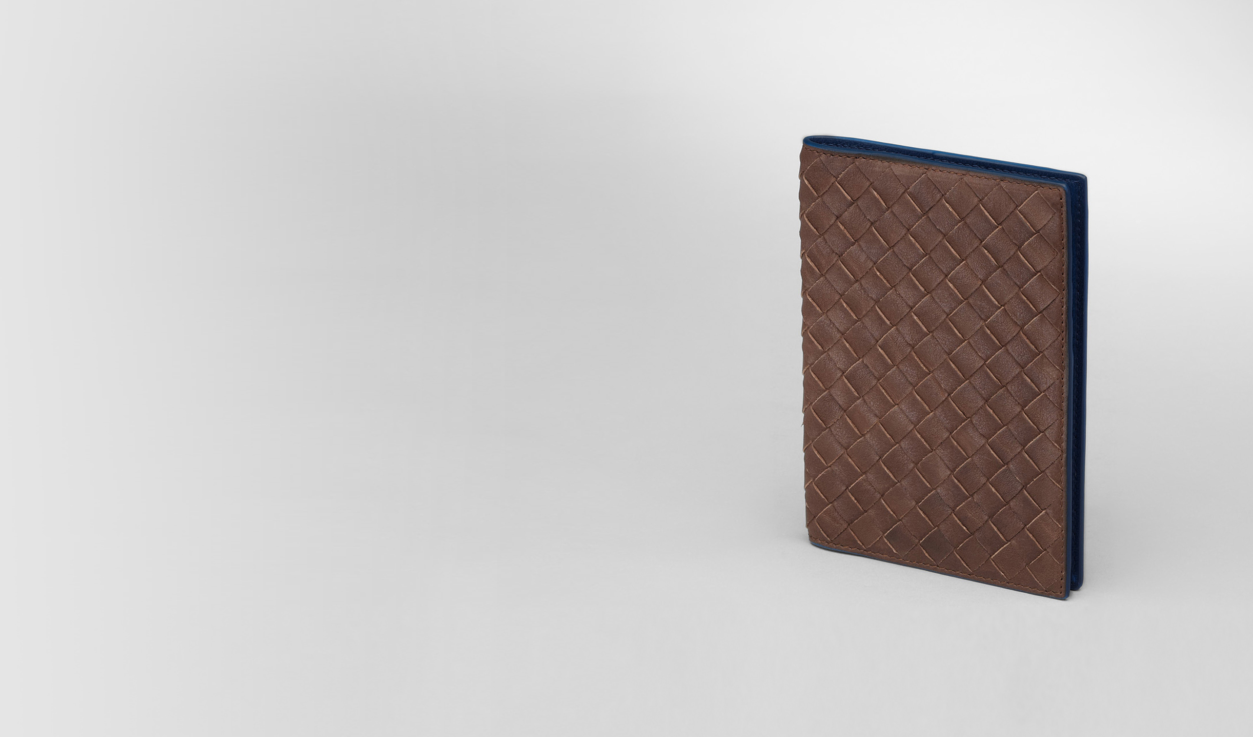 BOTTEGA VENETA Other Leather Accessory E Edoardo Électrique Intrecciato Washed Vintage Passport Case pl