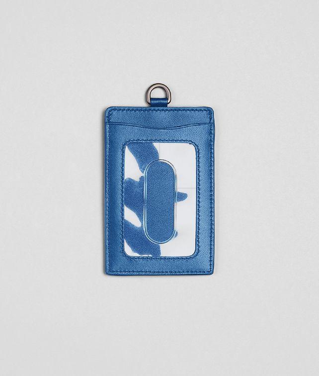 BOTTEGA VENETA Porta Carte Électrique in Nappa Intrecciata Altro accessorio in pelle E fp
