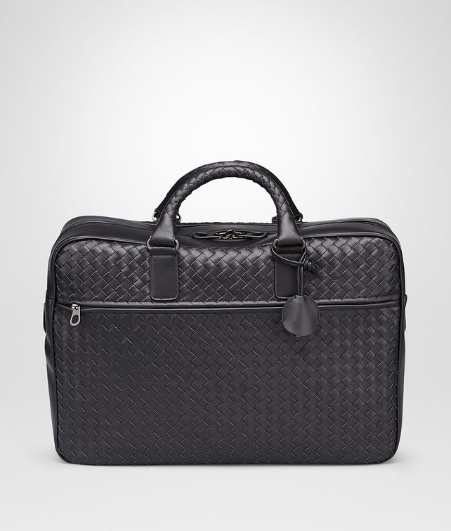 BOTTEGA VENETA Nero Intrecciato Vn Briefcase Business bag U fp