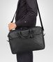 BOTTEGA VENETA Nero Intrecciato Vn Briefcase Business bag U lp