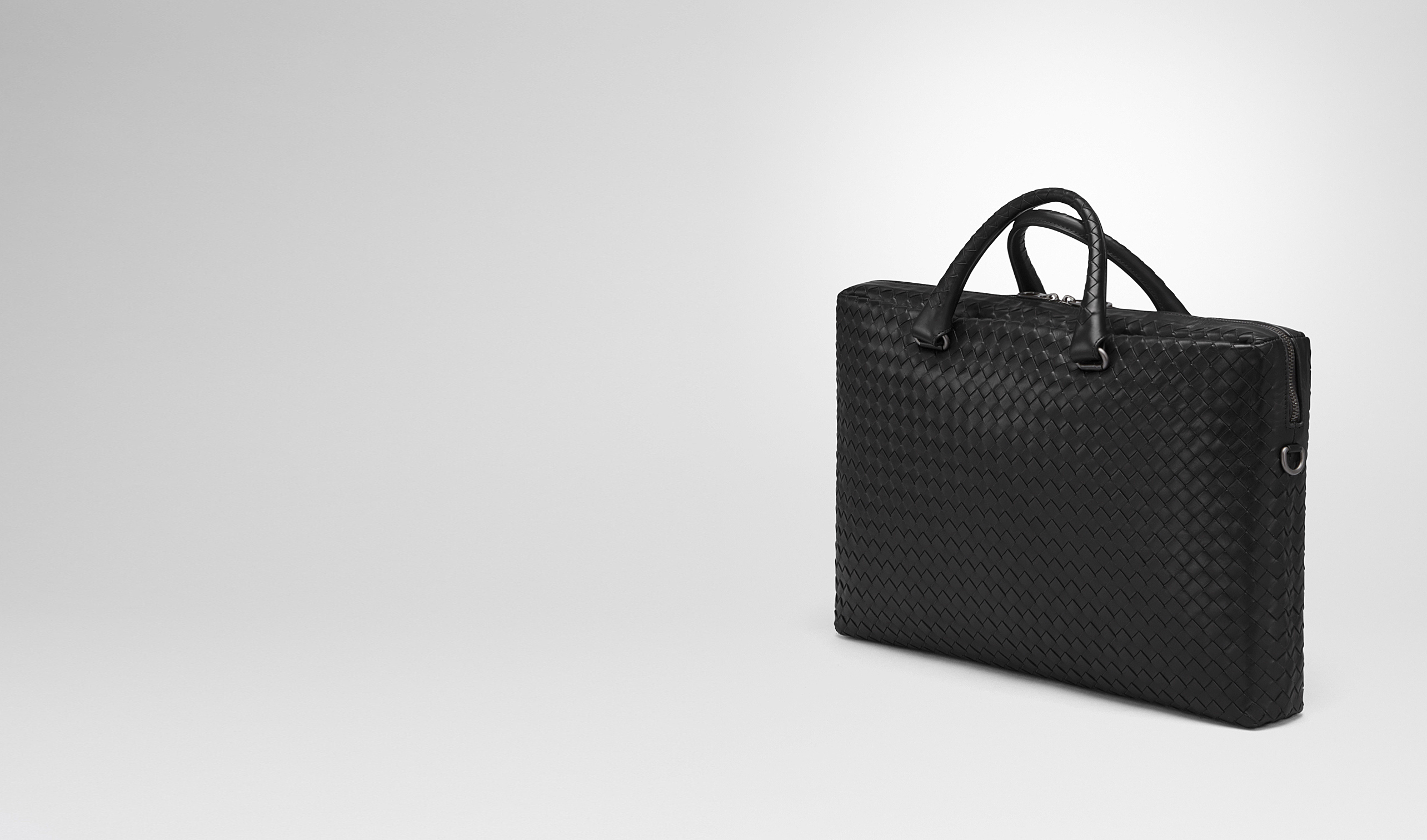 BOTTEGA VENETA Business bag U BRIEFCASE IN NERO INTRECCIATO CALF pl