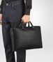 BOTTEGA VENETA AKTENTASCHE AUS INTRECCIATO KALBSLEDER IN NERO Business Tasche U ap