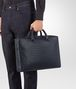 BOTTEGA VENETA BRIEFCASE IN PRUSSE INTRECCIATO CALF Business bag Man ap