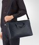 BOTTEGA VENETA BRIEFCASE IN PRUSSE INTRECCIATO CALF Business bag Man lp