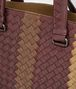 BOTTEGA VENETA AKTENTASCHE AUS CLUB FUMÉ INTRECCIATO NEW BRONZE, AUBERGINE UND EDOARDO Business Tasche U ep