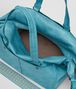 BOTTEGA VENETA AQUA INTRECCIATO CHECKER DUFFLE Luggage Man dp