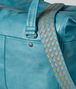 BOTTEGA VENETA AQUA INTRECCIATO CHECKER DUFFLE Luggage Man ep