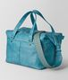 BOTTEGA VENETA AQUA INTRECCIATO CHECKER DUFFLE Luggage Man rp