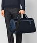 BOTTEGA VENETA TOURMALINE/PACIFIC HI-TECH CANVAS DUFFLE Luggage Man ap