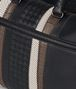 nero nappa/precious mix strade duffle Back Detail Portrait