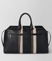 BOTTEGA VENETA NERO NAPPA/PRECIOUS MIX STRADE DUFFLE Luggage Man lp