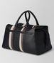 BOTTEGA VENETA NERO NAPPA/PRECIOUS MIX STRADE DUFFLE Luggage Man rp
