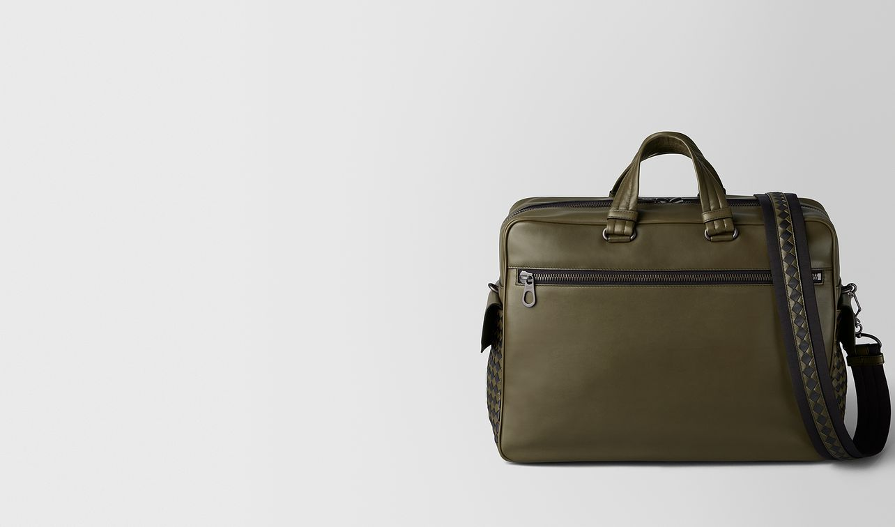 the major bag aus extraweichem kalbsleder in mustard nero landing