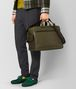 BOTTEGA VENETA BORSA THE MAJOR IN VITELLO BUTTER MUSTARD/NERO Valigeria Uomo ap