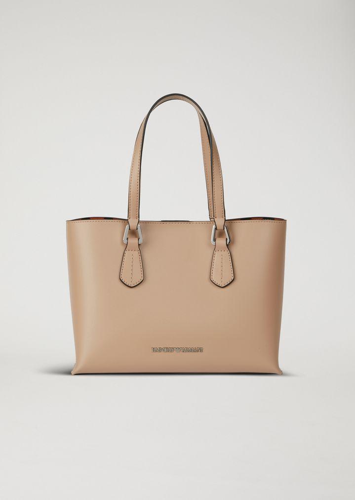043bde1db9e Tote bag with inner wallet   Woman   Emporio Armani