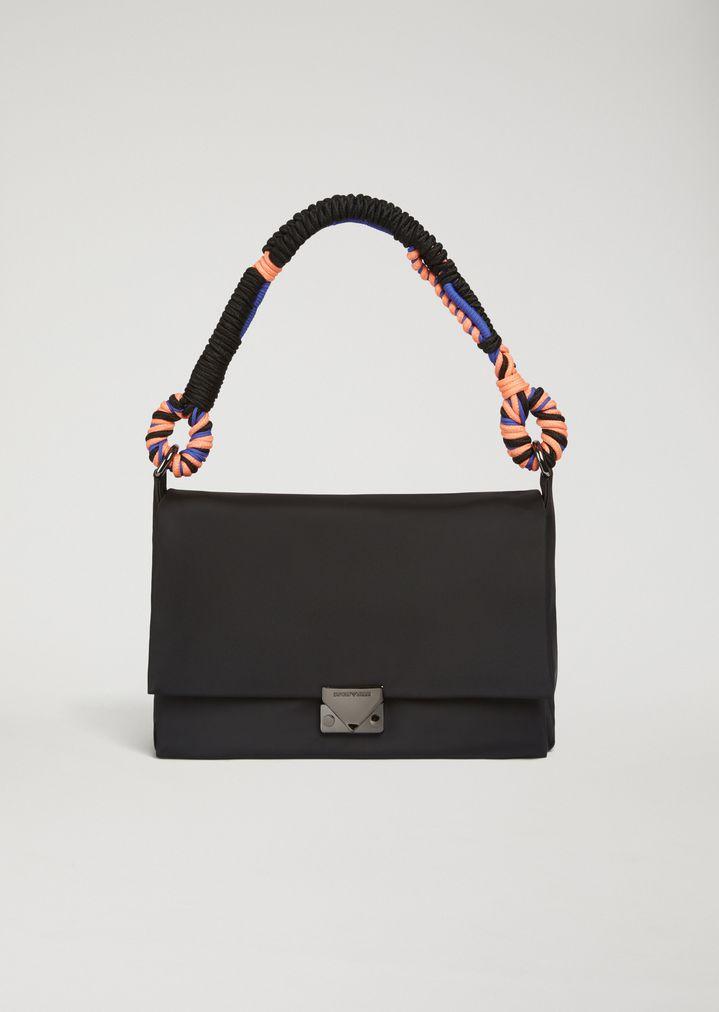 cf4365eea1 Shoulder bag in technical fabric | Woman | Emporio Armani