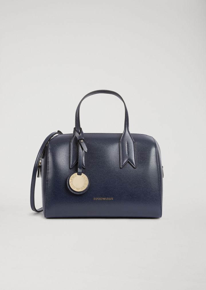 nuovo concetto be792 e57cf Bauletto bag with logo charm