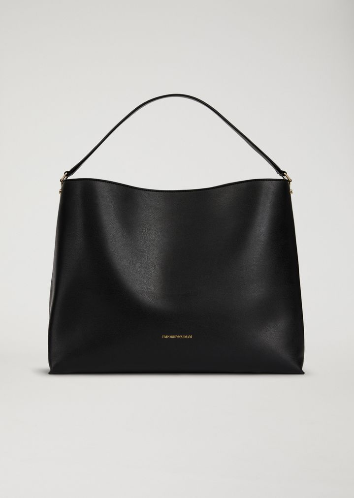 0f530fbd13 Shoulder bag in faux leather | Woman | Emporio Armani