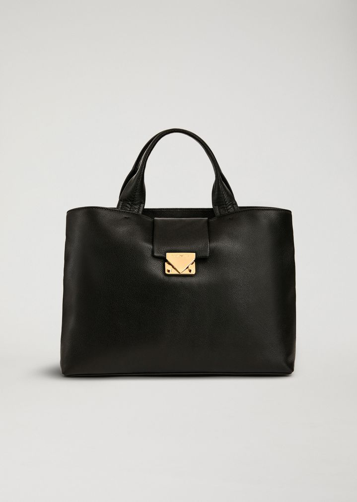Handbag In Leather  c49207064153a