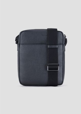 21457907a0f2 Grainy leather cross body bag