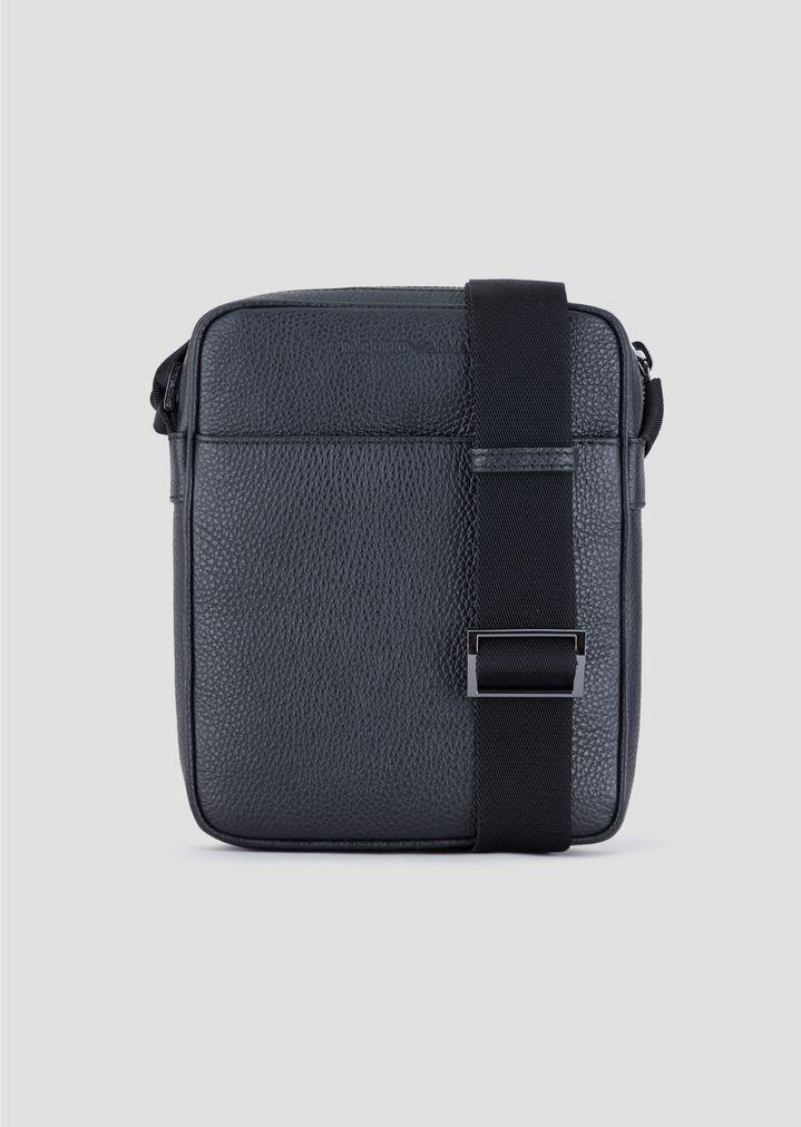 49e0465904 Grainy leather cross body bag